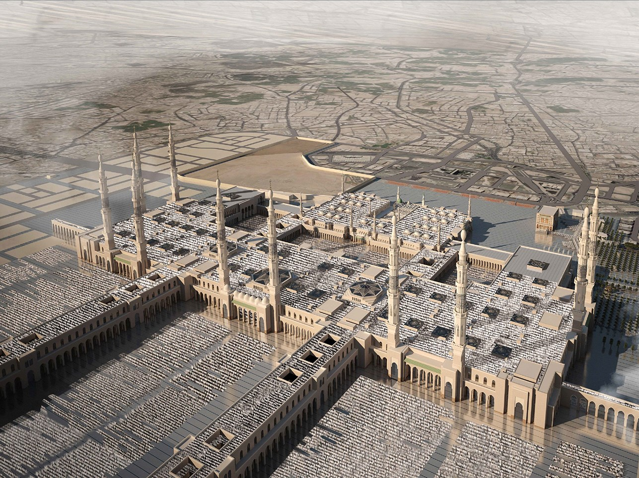 Al-Arabiya TV reports on the Madinah expansion