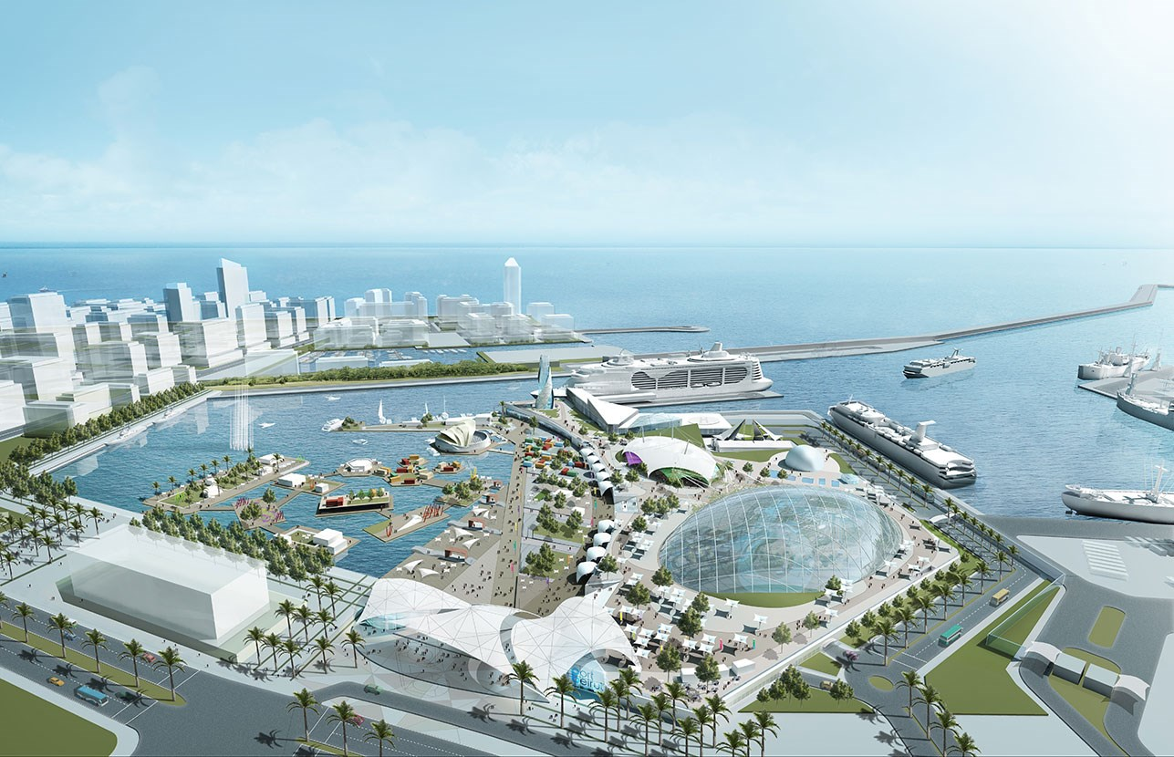 Dar AlHandasah Work Beirut Port Rehabilitation And Extension - Port design