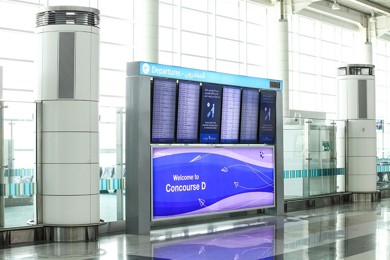 Dar Al Handasah Work Dubai International Concourse D