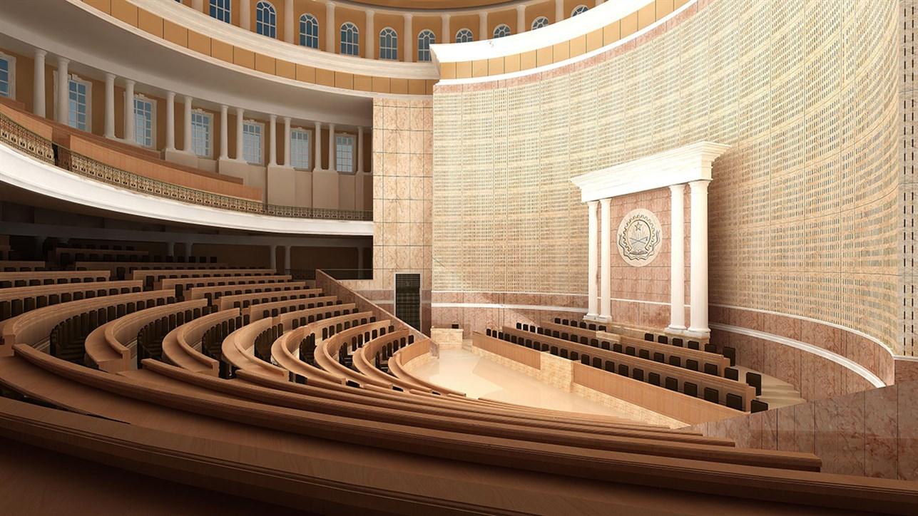 Dar Al-Handasah - Work - National Assembly Building of Angola