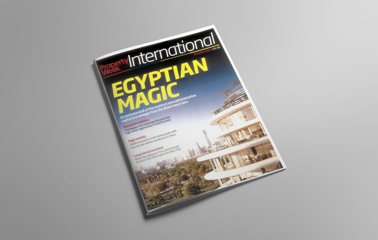 Property Week International Runs Cover Feature on Egypt's New Administrative Capital
